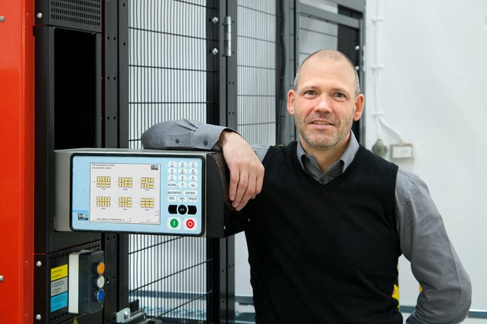 """Optimum solution from SOCO SYSTEM"" Torvald Östensson, General Manager at Umpac AB."