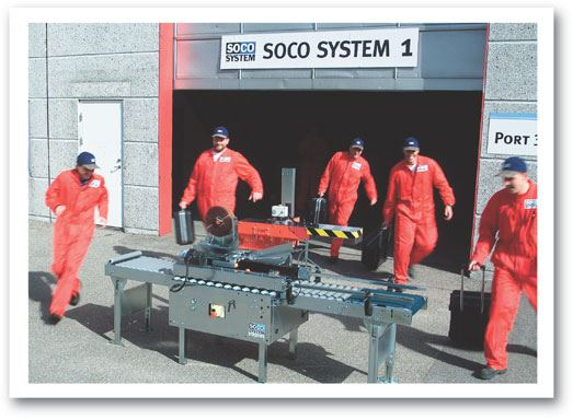 SOCO SYSTEMs service team