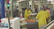Packaging lines at France Prunes