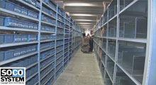 Distribution efficace avec la logistique de SOCO SYSTEM